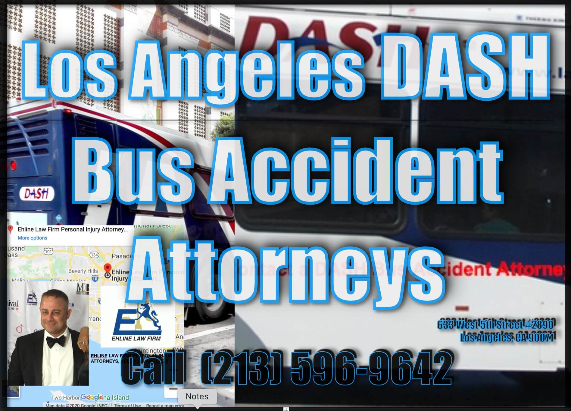 DASH Bus Accident Personal Injury Lawyers