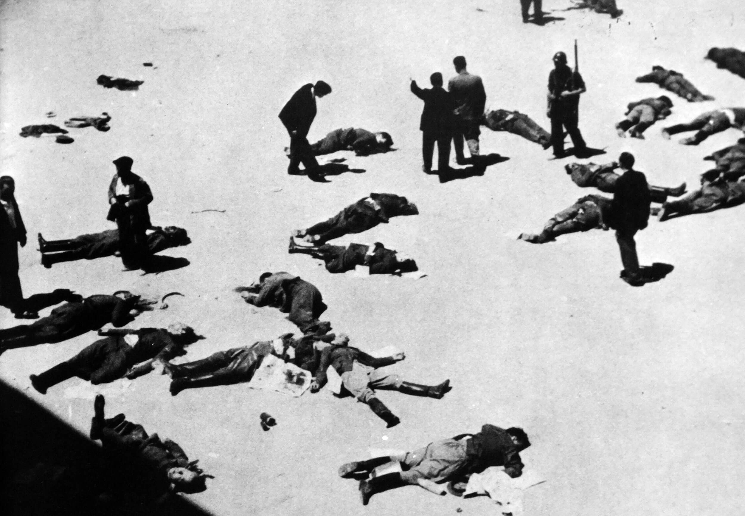 Dead people killed by ANTIFA for disagreeing with communism.