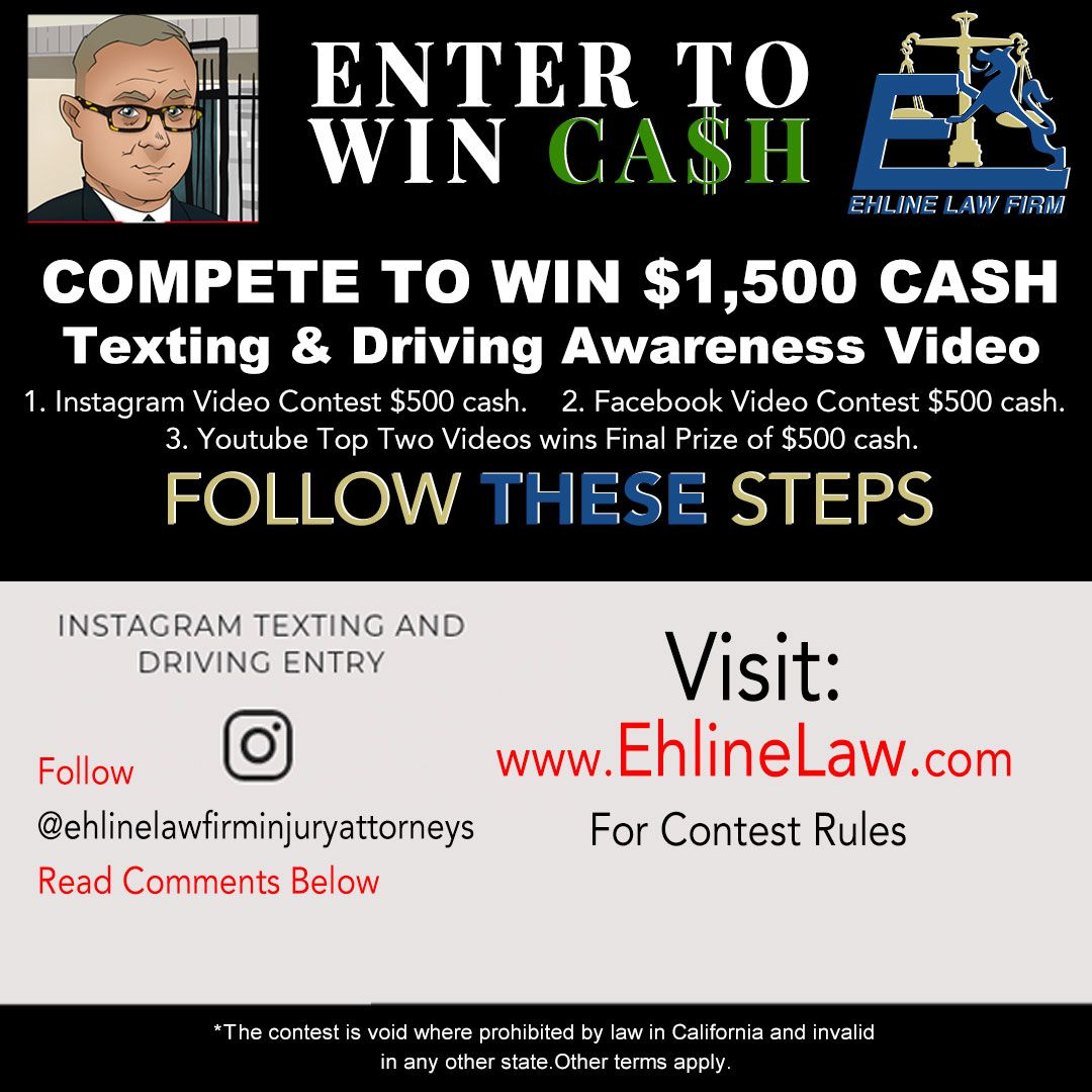 Instagram Testing and Driving Contest Ad