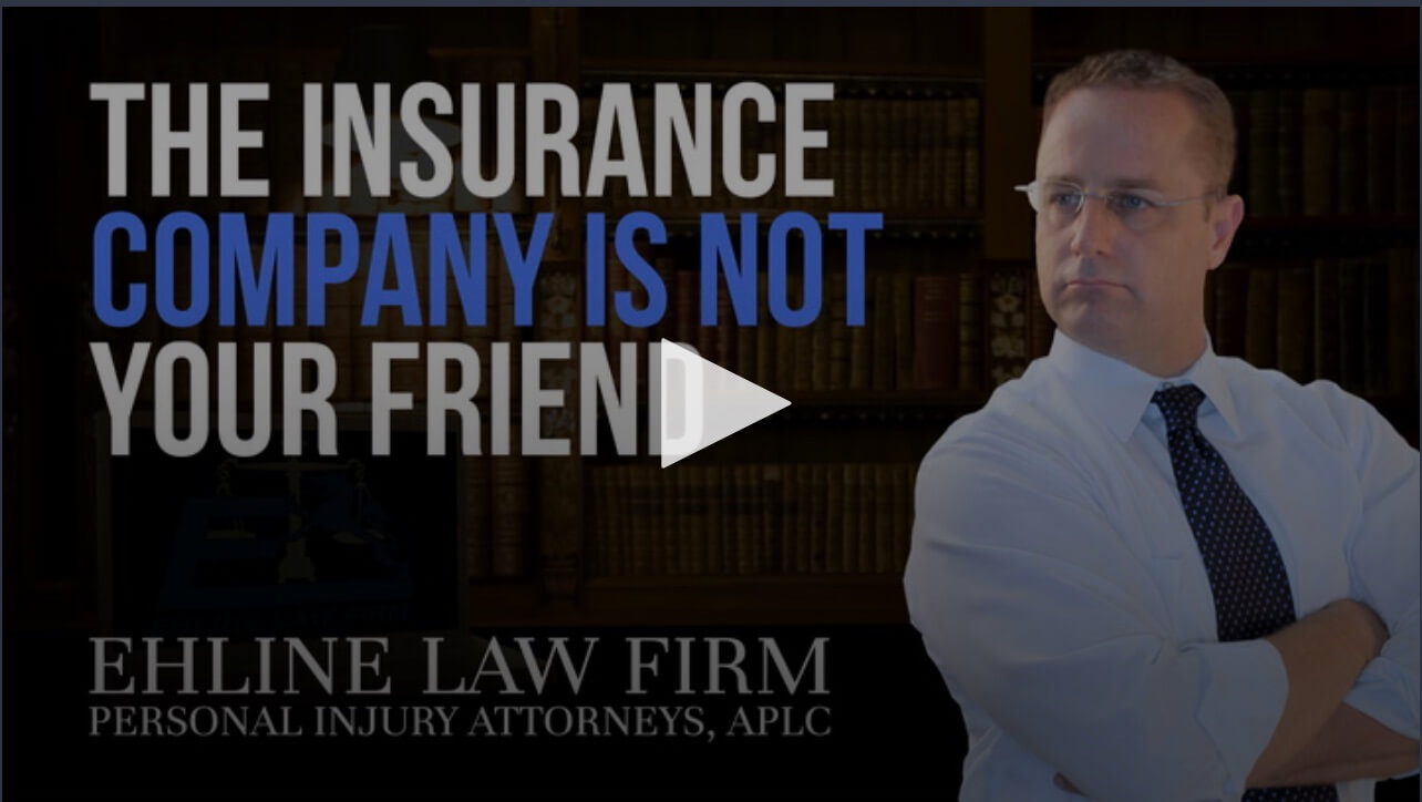 "Click to see the video. The ""Insurance Company Is Not Your Friend"""