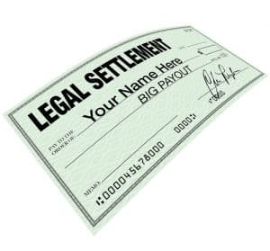 Legal Settlement - Blank Check Disbursement