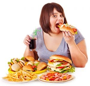 Example of Junk Food Caused Obesity