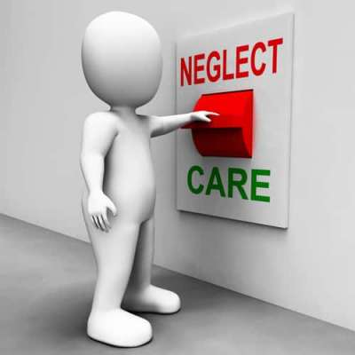 Neglect Care Switch Showing Neglecting Or Caring