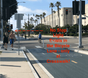 Image of redondo beach bicycle path