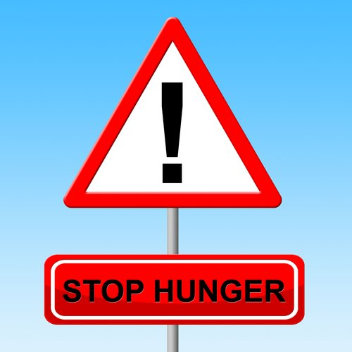 Caution Avoid Hunger Symbol