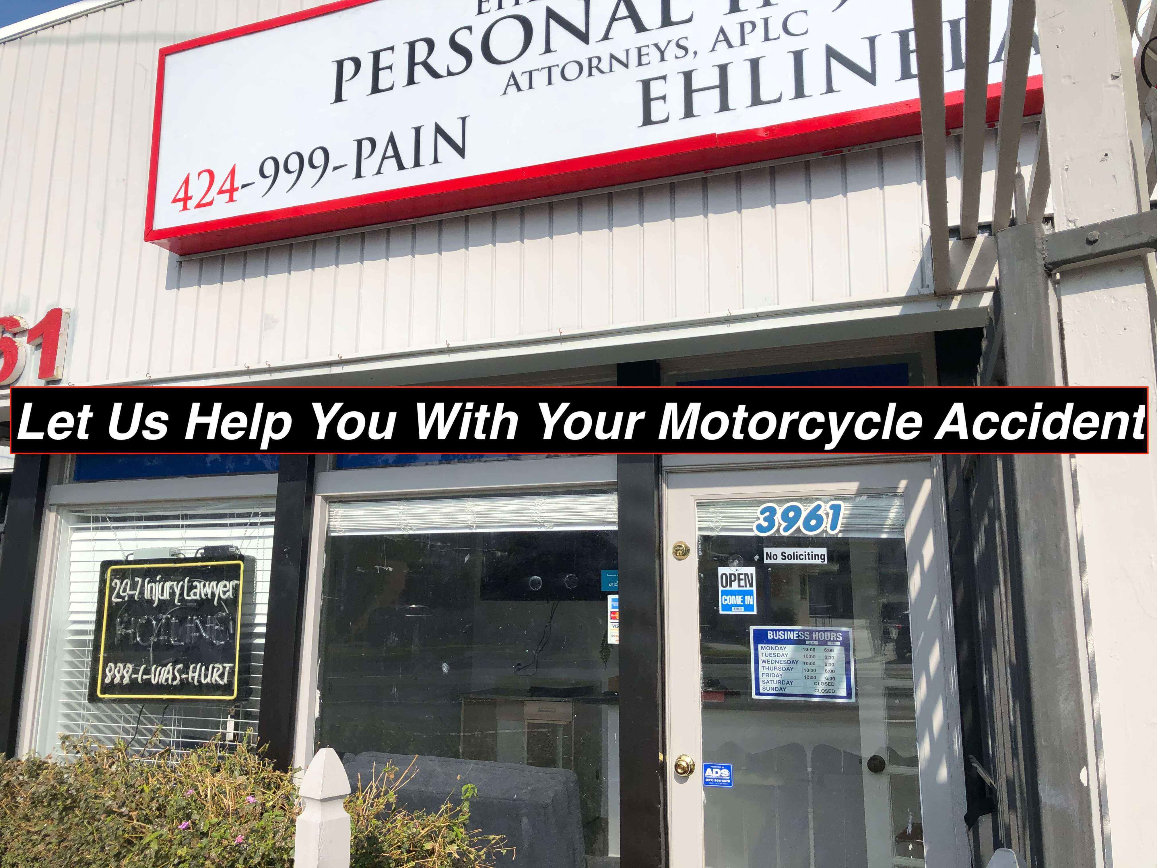 Convenient Coast Highway location for all your injury law needs.