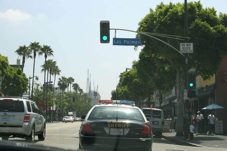 Los Angeles intersection Las Palmas where injuries requires the assistance of Ehline Law Firm Personal Injury Attorneys, APLC.
