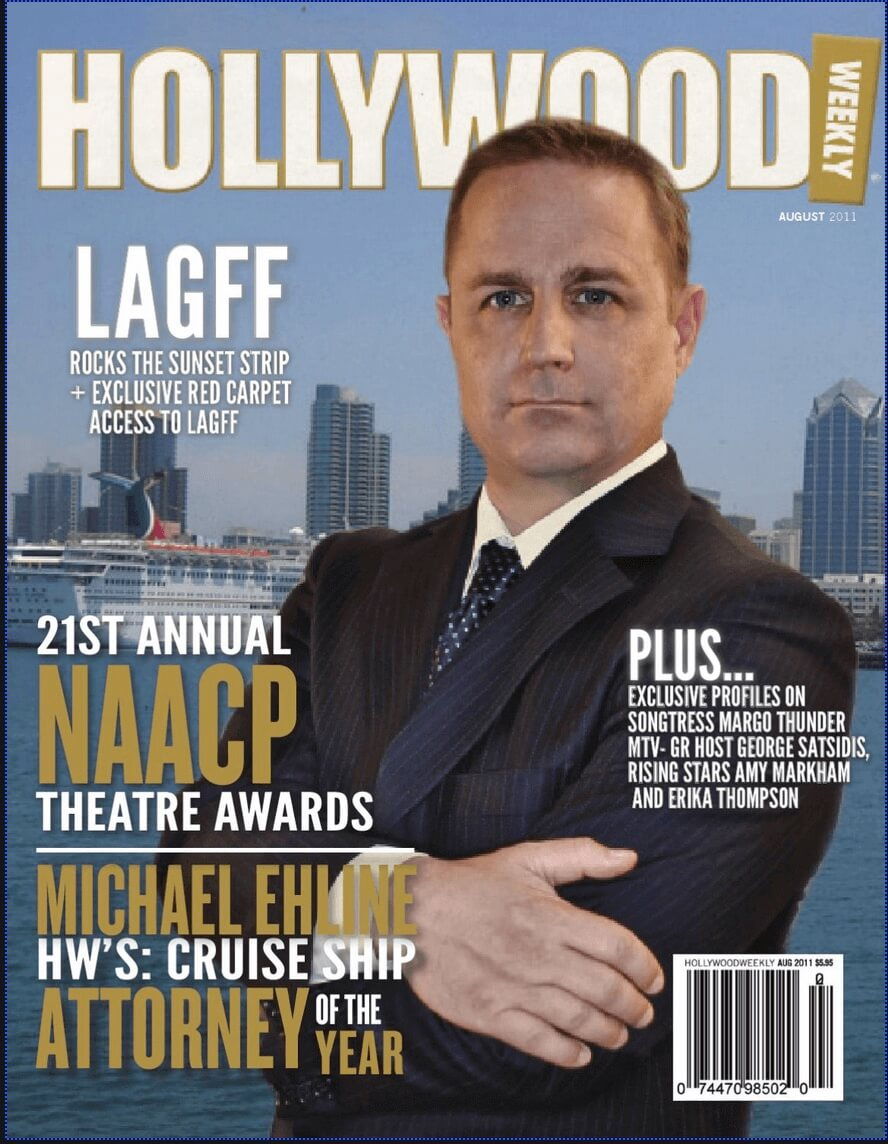 Cruise Ship Attorney of the Year Award Magazine Cover