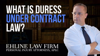 Thumbnail for Video: What Is 'Duress' Under Contract Law?
