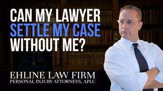 Thumbnail for Video: Can my lawyer settle my personal injury case without my consent?