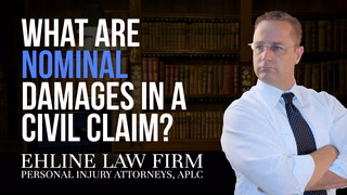Thumbnail for Video: What Are 'Nominal Damages' In A Civil Claim?