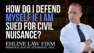 Thumbnail for Video: How Do I Defend Myself If I Am Sued For Civil Nuisance?