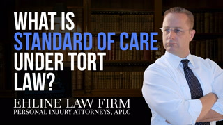 Thumbnail for Video: What Is 'Standard Of Care' Under Tort Law?