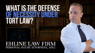 Thumbnail for Video: What Is the Defense of 'Necessity' Under Tort Law?