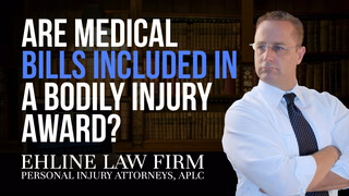 Thumbnail for Video: Are Medical Bills Included In A Bodily Injury Award?