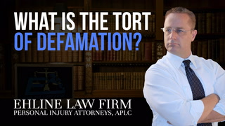 Thumbnail for Video: What Is the Tort Of Defamation?