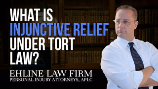 Thumbnail for Video: What Is 'Injunctive Relief' Under Tort Law?