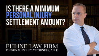 Thumbnail for Video: Is There A Minimum Personal Injury Settlement Amount?