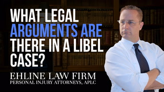 Thumbnail for Video: What Legal Arguments Are Available To Defendants In A Libel Case?