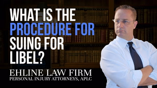 Thumbnail for Video: What Is The Procedure For Suing For Libel?