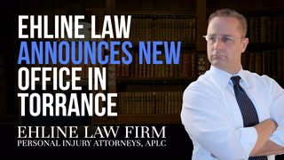 Thumbnail for Video: Ehline Law Announces Torrance Office