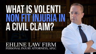 Thumbnail for Video: What Is 'Volenti Non Fit Injuria' In A Civil Claim?