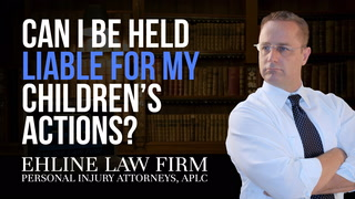 Thumbnail for Video: Can I Be Held Liable For My Children's Actions?