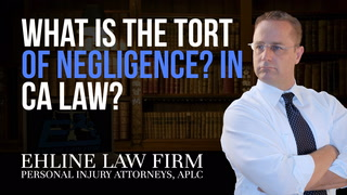 Thumbnail for Video: What Is the 'Tort Of Negligence'?