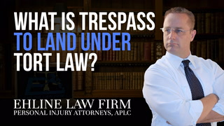 Thumbnail for Video: What Is 'Trespass To Land' Under Tort Law?