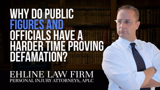 Thumbnail for Video: Why Do Public Figures And Officials Have A Harder Time Proving Defamation?