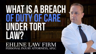 Thumbnail for Video: What Is A 'Breach Of Duty Of Care' Under Tort Law?