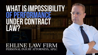 Thumbnail for Video: What Is 'Impossibility Of Performance' Under Contract Law?
