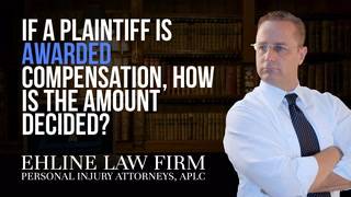 Thumbnail for Video: If A Plaintiff Is Awarded Compensation, How Is The Amount Decided?