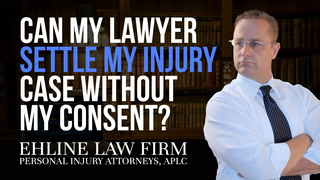 Thumbnail image for Can my lawyer settle my injury case without my consent?