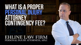 Thumbnail image for What Is a proper personal injury attorney contingency fee?