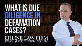 Thumbnail for Video: What Is 'Due Diligence' In Defamation Cases?