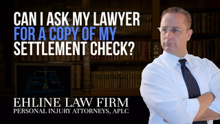 Thumbnail for Video: Can I ask my lawyer for a copy of my settlement check?
