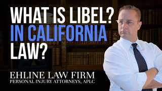 Thumbnail for Video: What Is 'Libel'?