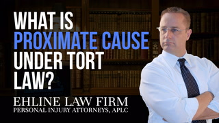 Thumbnail for Video: What Is 'Proximate Cause' Under Tort Law?