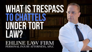 Thumbnail for Video: What Is 'Trespass To Chattels' Under Tort Law?