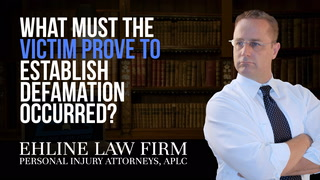 Thumbnail for Video: What Must The Victim Prove To Establish That Defamation Occurred?