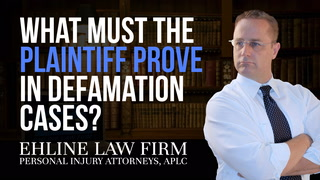 Thumbnail for Video: What Must I Prove If I Am The Plaintiff In A Defamation Case?