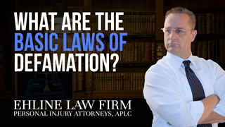 Thumbnail for Video: What Are The Basic Laws Of Defamation?