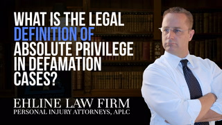 Thumbnail for Video: What Is The Legal Definition Of 'Absolute Privilege' In Defamation Cases?