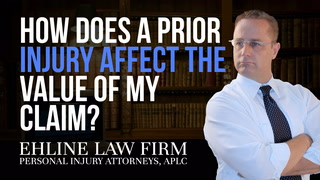 Thumbnail for Video: How Does A Prior Injury Affect The Value Of My Claim?