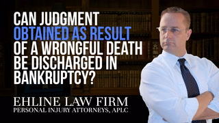 Thumbnail for Video: Can A Judgment Obtained As Result Of A Wrongful Death Be Discharged In Bankruptcy?