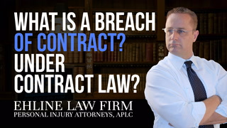Thumbnail for Video: What Is A 'Breach Of Contract'?