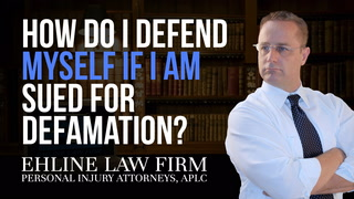 Thumbnail for Video: How Do I Defend Myself If I Am Sued For Defamation?