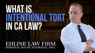 Thumbnail for Video: What Is An 'Intentional Tort?'