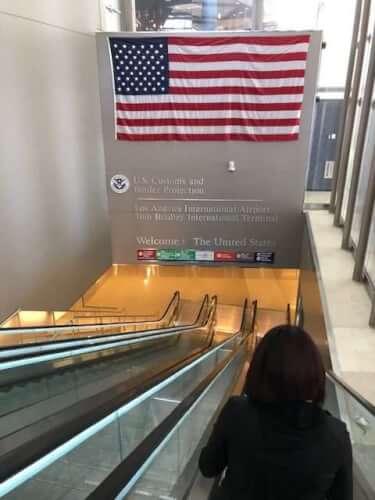 LAX Escalators